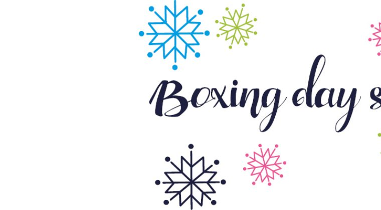 boxing day sale homepage banner