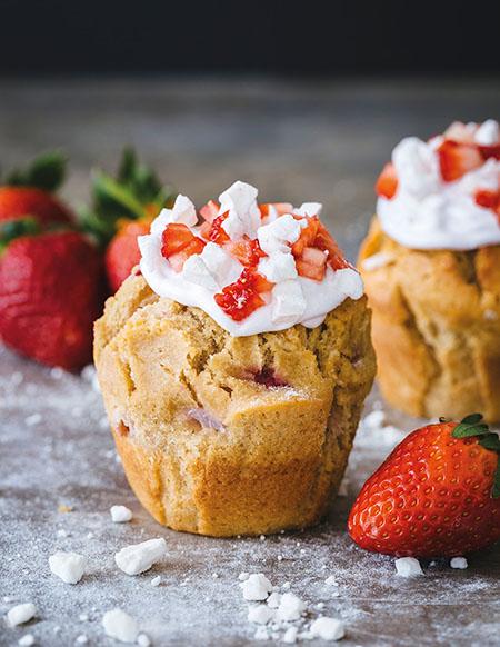 Muffin Break Eton Mess muffin