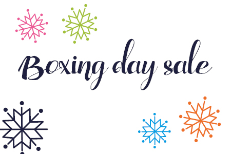 Boxing day sale starts at 6am!