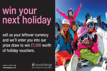Win your next holiday with Eurochange!