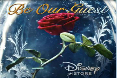 Celebrate the release of Beauty and the Beast at The Disney Store