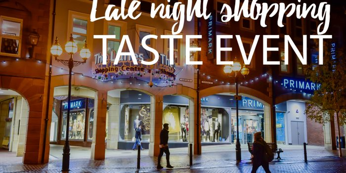 Lanes late night taste event
