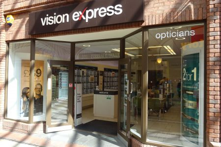Vision Express now open
