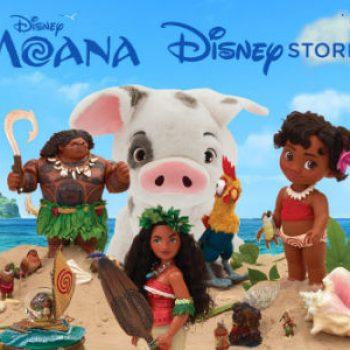 Moana now at the Disney Store!