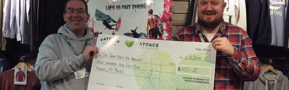 FatFace Black Friday Fund Raising