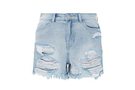 new look denim distressed shorts 19.99