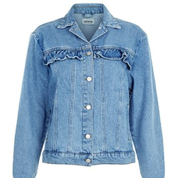 new look frill denim jacket 39.99