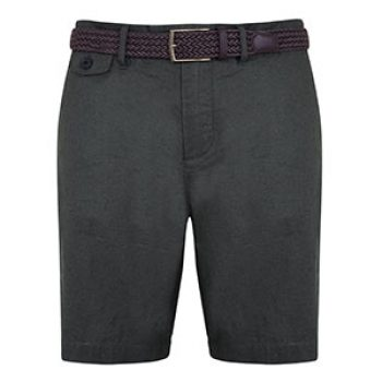 J by Jasper Conran Dark green linen shorts now at £30.40