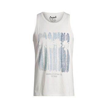 jack jones printed tank top - 9.00