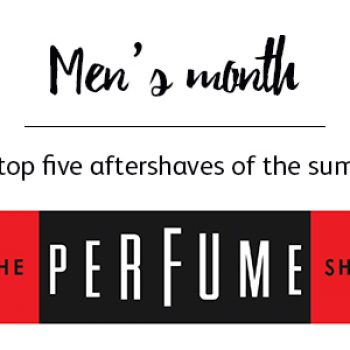 The top five aftershaves for this Summer!