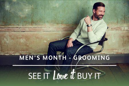 Men's month – Grooming
