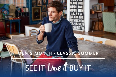 Men's month – Debenhams classics