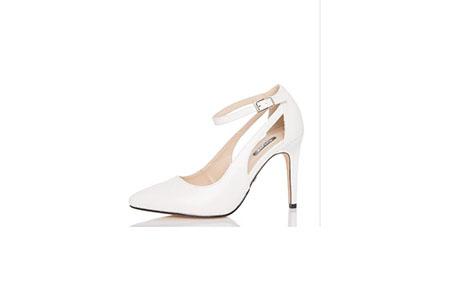 Quiz white heels