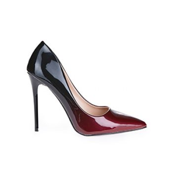black and red flirty heel - schuh