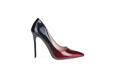 black and red flirty heel - schuh