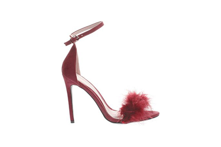 miss guided feather shoe -schuh