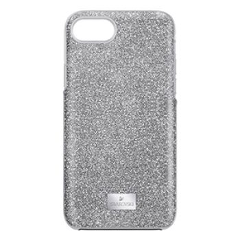 silver sparkle phonecase - swarovski