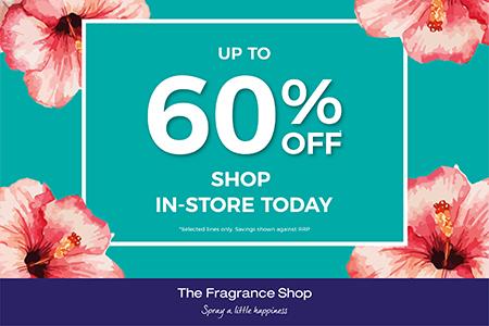 April fragrance shop sale