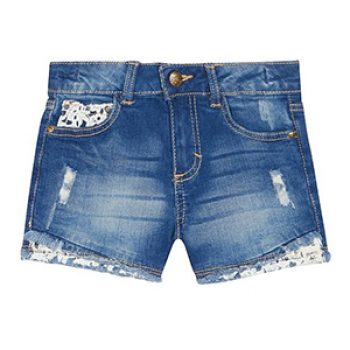 Mantaray blue denim shorts- Debs - kids summer