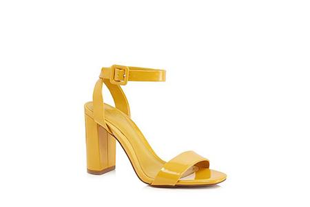 jasper conran yellow heels - bold summer