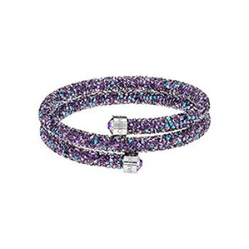 lame crystal bangle - swarovski - time to party