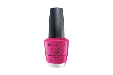 opi pink nail polish- debenhams - bold summer