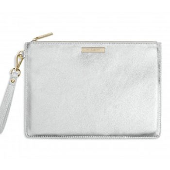 silver luxe bag - katie loxton - time to party