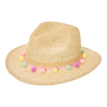 straw hat - claires - kids summer
