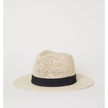 straw hat - h&m - casual summer