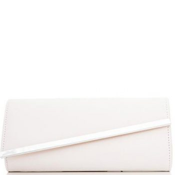 white leather clutch bag - quiz - time to party