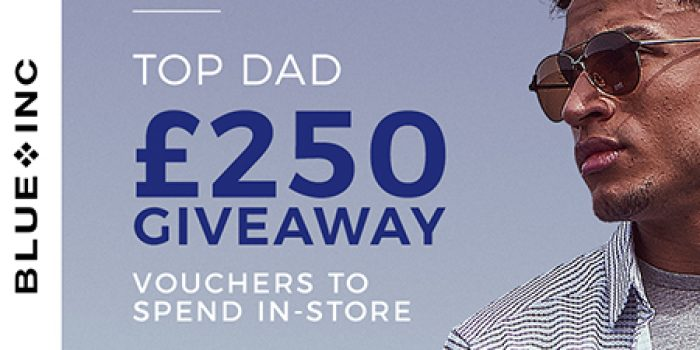 Win this Father's Day courtesy of Blue Inc