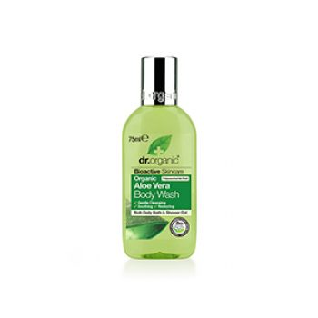 dr organic aloe vera body wash - h&b - travel