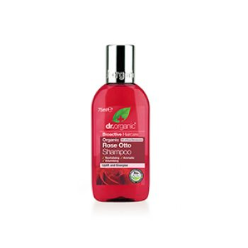 dr organic rose otto shampoo and conditioner travel size - h&b - travel