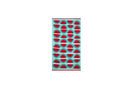 home collection watermelon towel - debs - travel