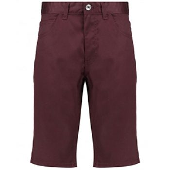 maroon utility shorts - blue inc - casual man
