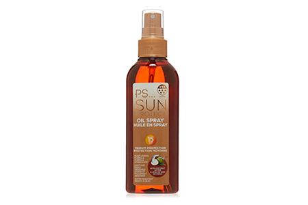 ps sun protect oil - primark - travel