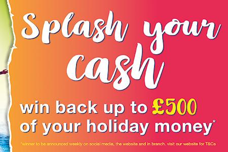 Eurochange Splash Your Cash