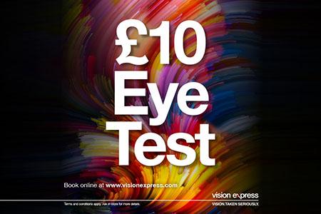 Vision express eye test offer