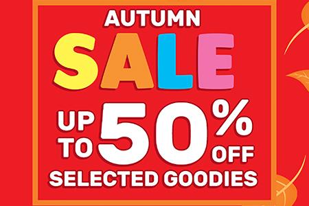 smiggle autumn sale