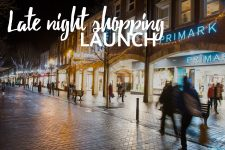 Late night shopping launch 2018