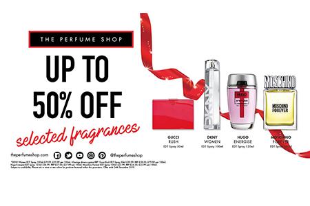december deals - the perfume shop
