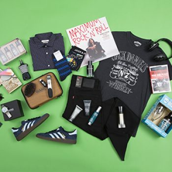 cool dad flat lay - father