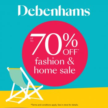 Debs fashion and home sale