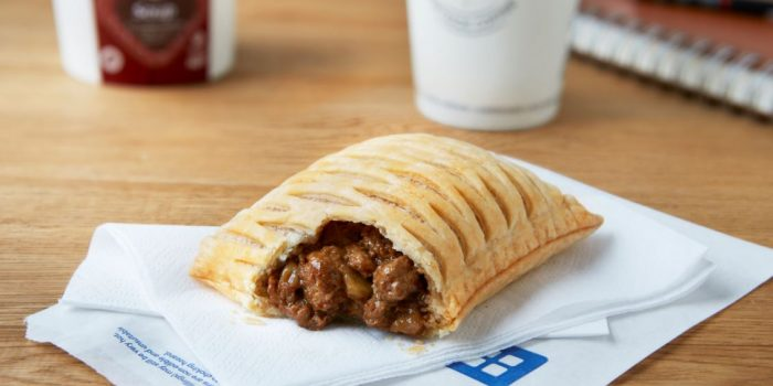 The Vegan Steak Bake has arrived at Greggs