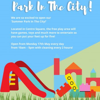 Summer Park In The City Now Open!