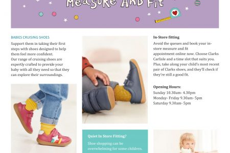 Clarks – The Little Feet Experts