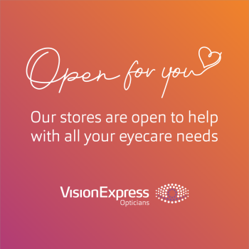 Vision Express are open for you 👓