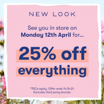 New Look Re-opening Offer!