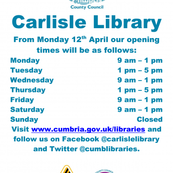 The Library Re-opening Times 📚