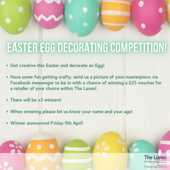 The Lanes Easter Competition 2021! 🐣